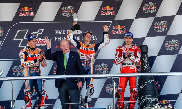 Jerez brilla con el Motociclismo
