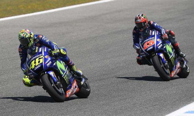 Problemas de agarre para el Movistar Yamaha MotoGP