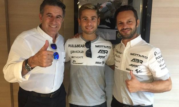 El Aspar Team y Álvaro Bautista continuarán juntos en 2018