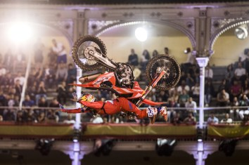 Dany Torres, Red Bull X-Fighters, Podio, Las Ventas