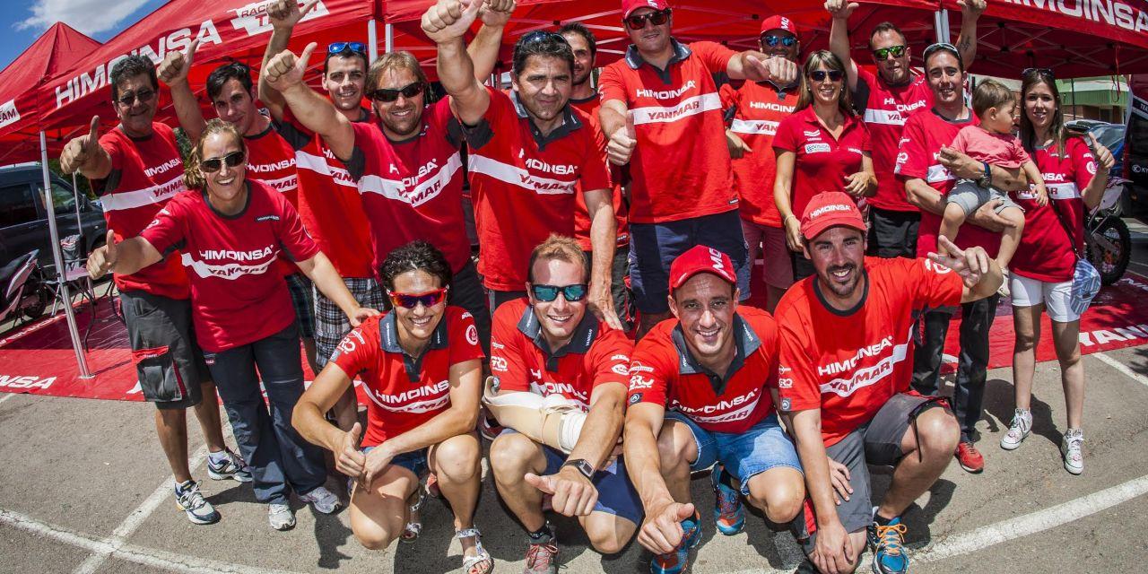 Póker de Ases del HIMOINSA Team en la Baja Aragón
