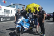 H43 TEAM TALASUR BLUMAQ EN SU CARRERA DE ESTORIL
