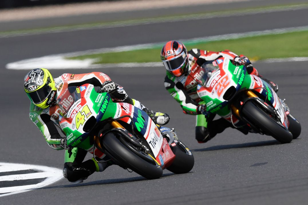 Aleix Espargaró, Sam Lowes, Aprilia Racing Team Gresini