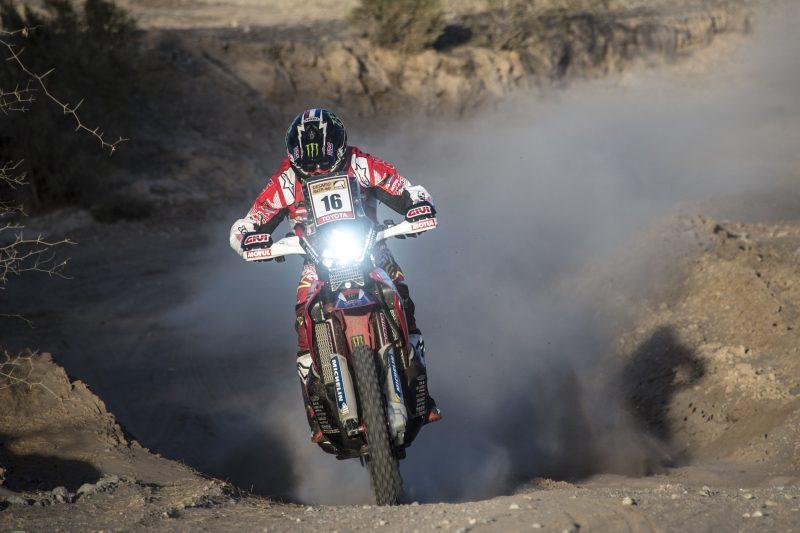 El Monster Energy Honda Team lidera el Desafío Ruta 40 con un doblete en la segunda etapa
