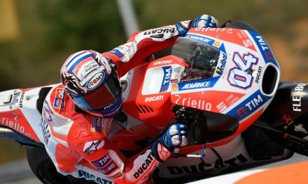 Andrea Dovizioso domina en MotoGP en Brno