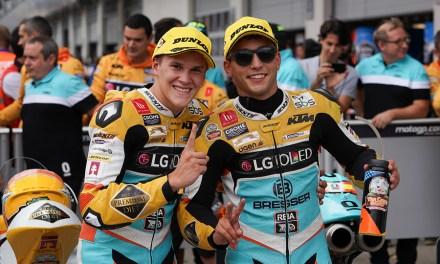 El RBA BOÉ Racing arrasa en el QP del GP de Austria con el 1º y 2º tiempo
