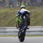 Valentino Rossi abandona el hospital