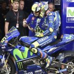 Valentino Rossi valora volver en Aragón