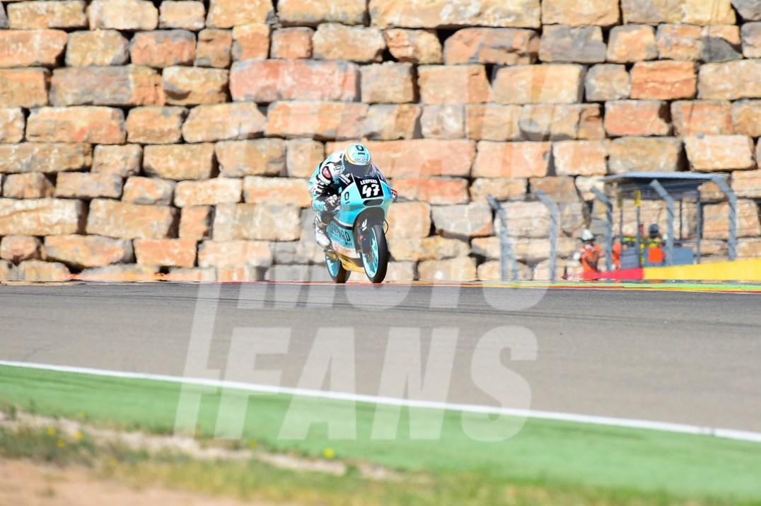 Aarón Polanco, Teammotofans, #YD, Circuito Motorland Aragón, Moto3,