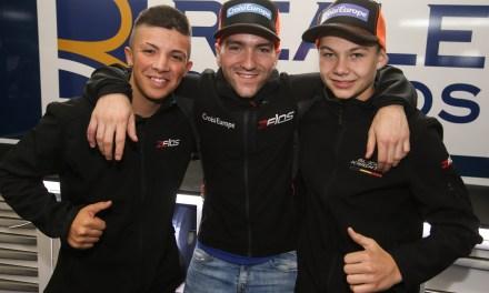 Barry Baltus, tercer piloto con Reale Avintia Academy para el FIM CEV de Moto3 en 2018
