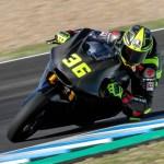 Pecco Bagnaia domina los entrenamientos de Moto2 en Jerez