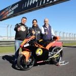 María Herrera disputará el Gran Premio con la Cuna de Campeones