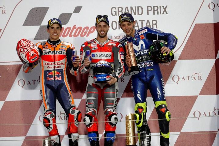 01 GP Qatar 15, 16, 17 y 18 de marzo de 2018, circuito de Losail, Qatar; MotoGP, motogp, mgp, MOTOGP