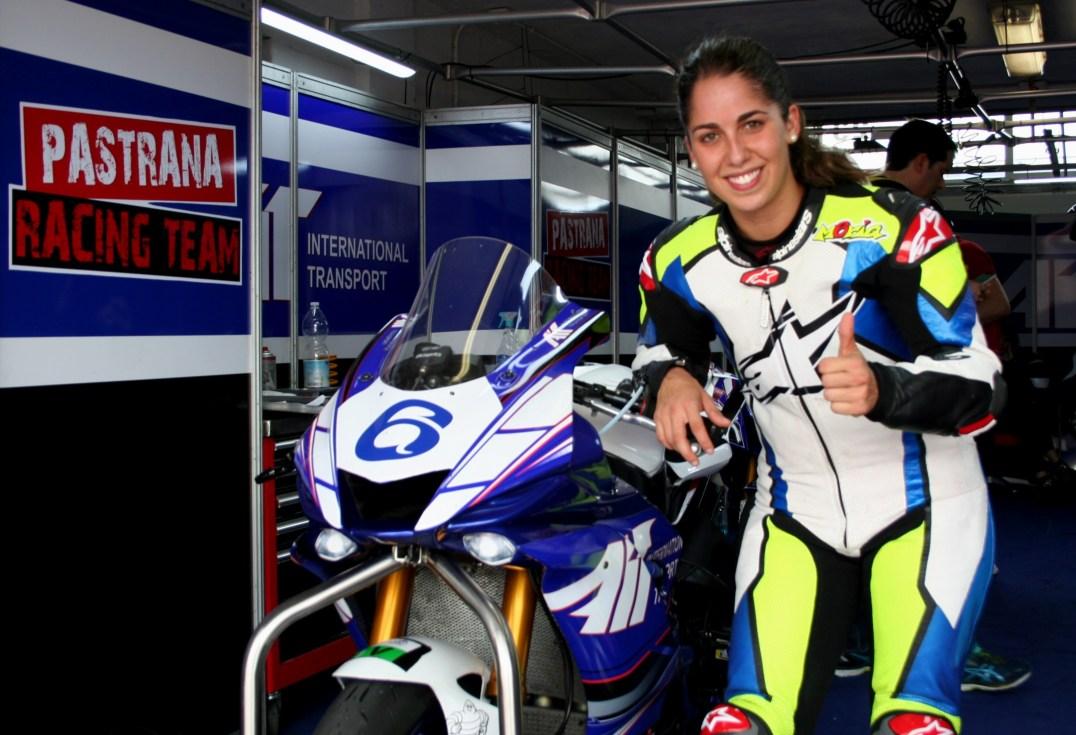 María Herrera, Circuito de Albacete, Campeonato de España de Velocidad, RFME