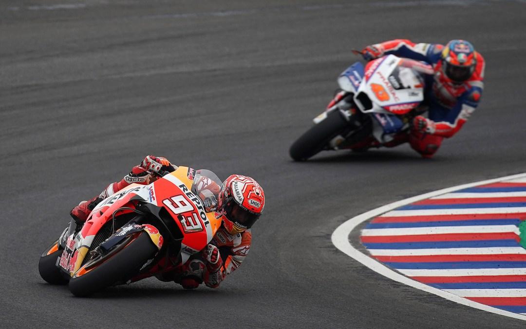 El caos debido a las condiciones meteorológicas compromete la carrera del equipo Repsol Honda