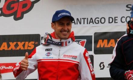 GasGas salda con una victoria y tres podios su paso por Compostela