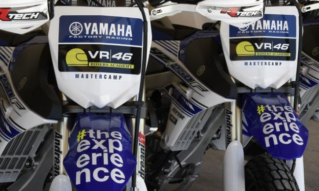 El YamahaVR46 Camp presenta a sus pilotos para julio