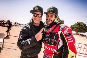 Joan Barreda, Rally - Monster Energy Honda Team