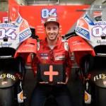 Dovizioso celebra con la Pole provisional el anuncio de su renovación con el Ducati Team para los próximos dos años