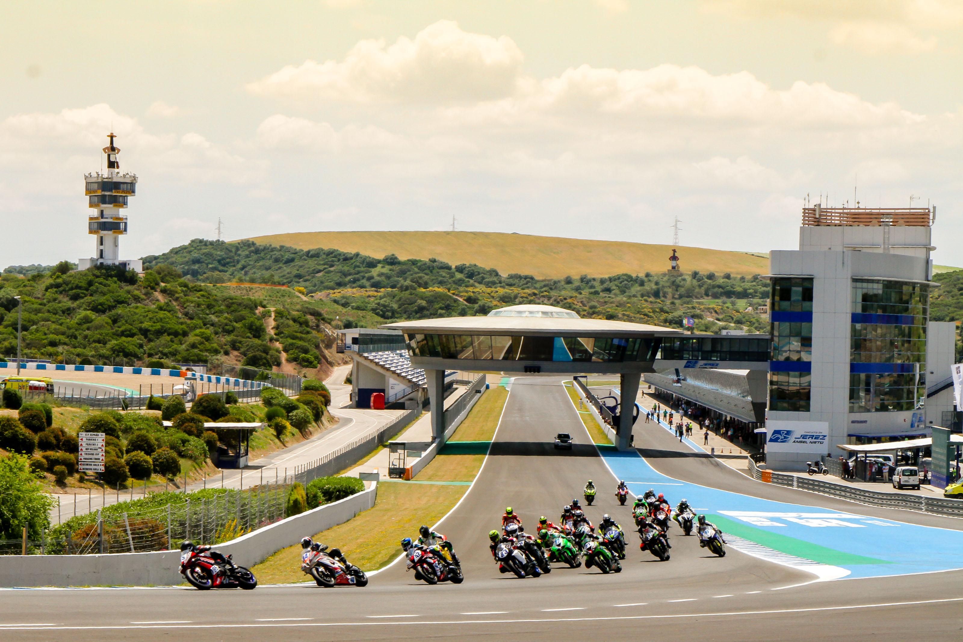 Circuito De Jerez : El circuito de jerez pasa a llevar el nombre de Ángel nieto