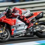 Segunda y tercera fila para los pilotos del Ducati Team en Jerez.