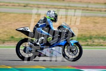 www.teammotofans.com, @yiyodorta, #YD, FIM CEV Repsol, Circuito de Motorland Aragón, European Talent Cup