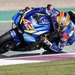 Álex Rins el más rapido en los test de Qatar el segundo día