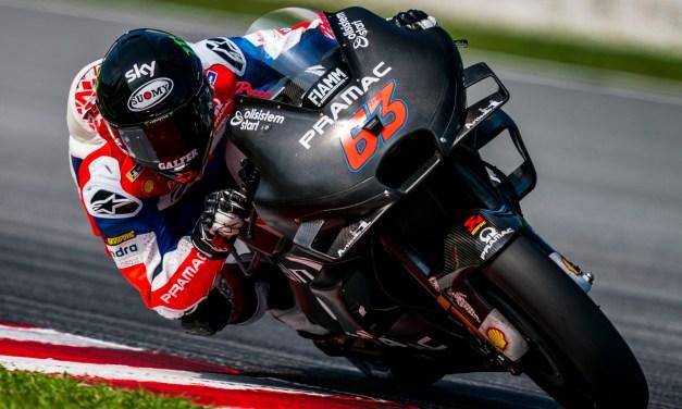 resultado excepcional para Racing Alma Pramac: Pecco segundo y  Jack tercero,  dominio Ducati