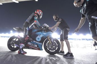 Quartararo, Qatar MotoGP test Feb 2019