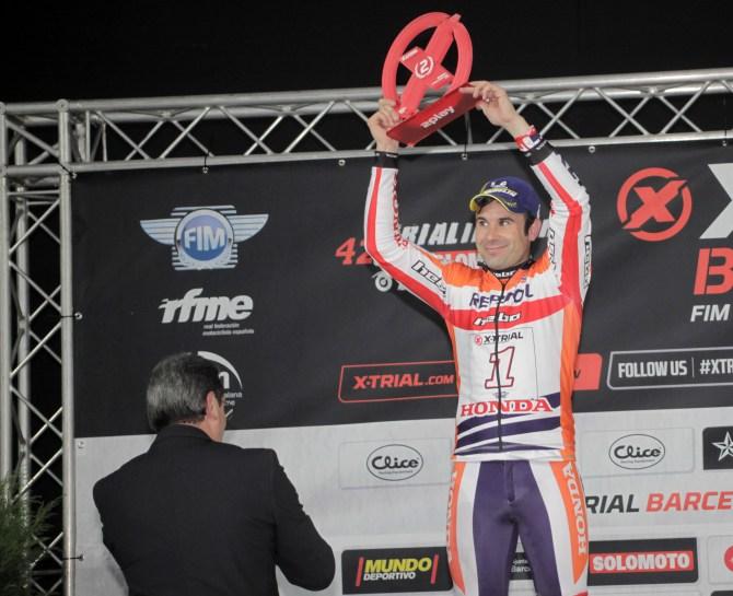 Repsol Honda Trial, Toni Bou