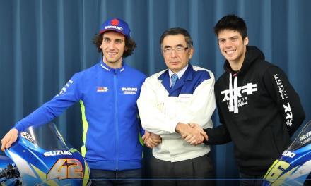 Exclusivo vídeo del Suzuki Ecstar Team en el «túnel del viento»