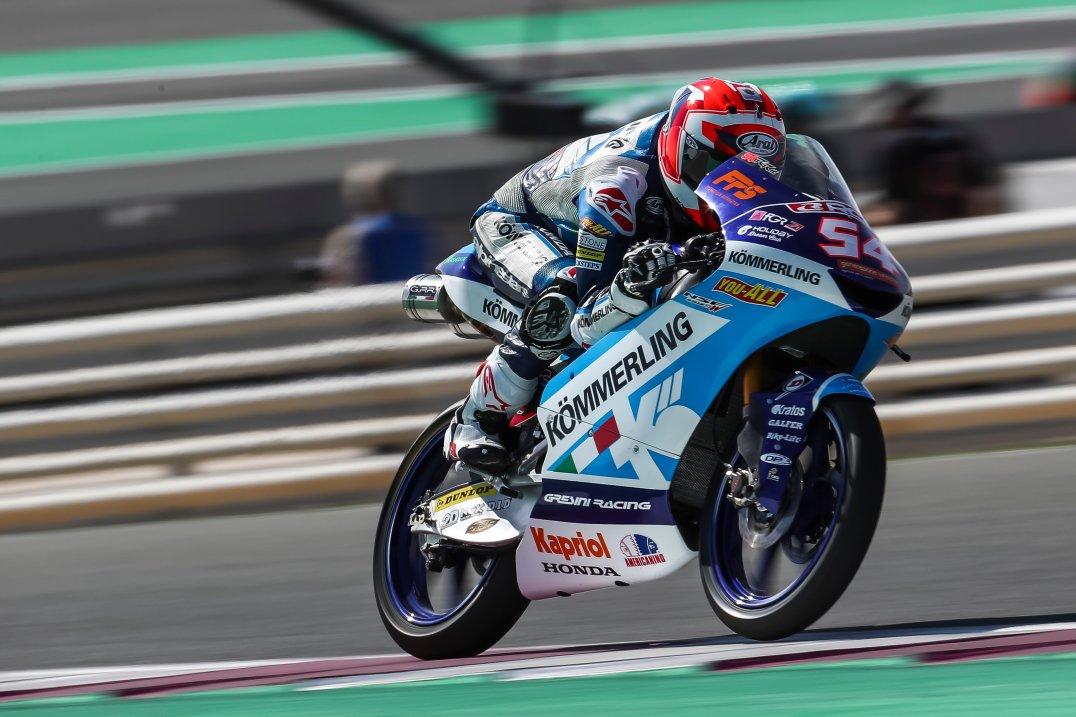 Riccardo Rossi, Team Kömmerling Gresini Moto3