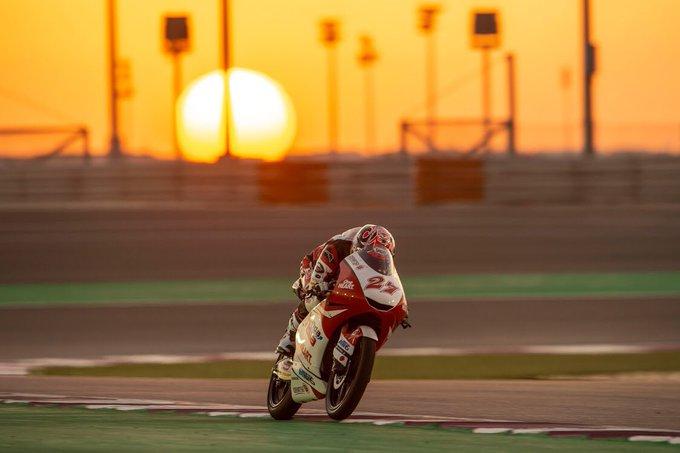 Qatar, Moto3, gana KAITO TOBA