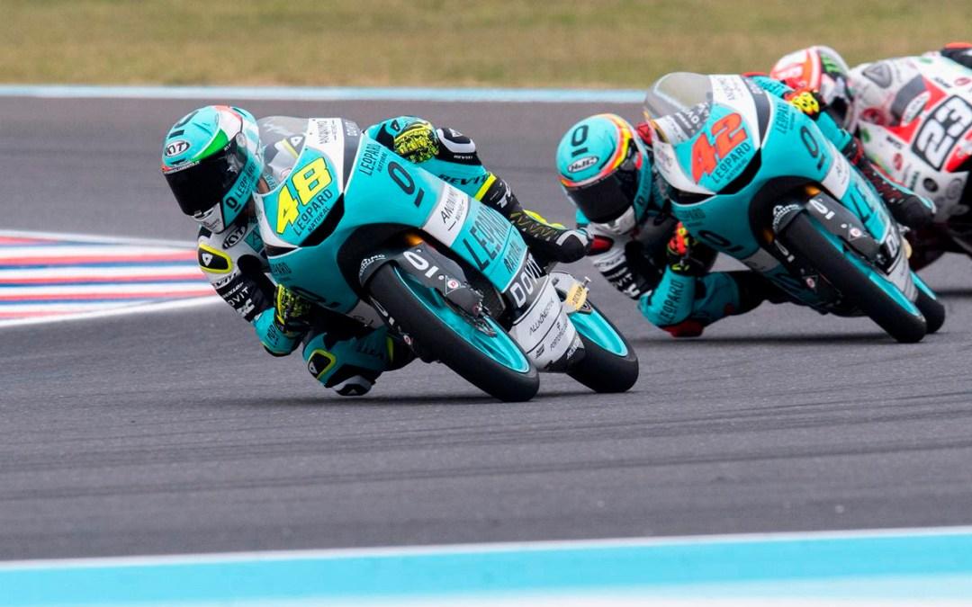 Cuarta posición de la parrilla para Dalla Porta y 12 de Ramírez en Argentina