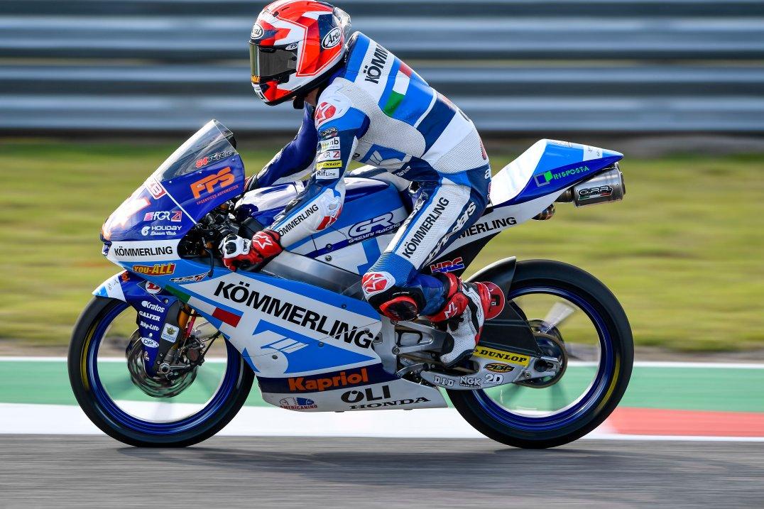 Riccardo Rossi, Team Kömmerling Gresini Moto3, Circuito de Las Américas, COTA
