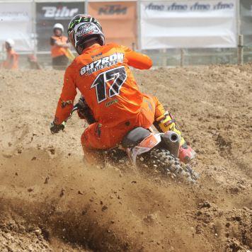 José Antonio Butrón, Campeonato de España de MX, Bellpuig, MX1, KTM España
