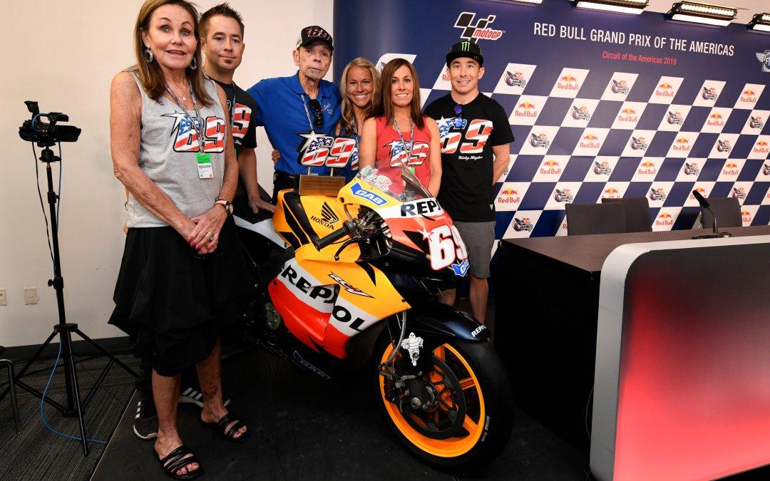 El número 69 se retira de MotoGP ™ en honor a Nicky Hayden
