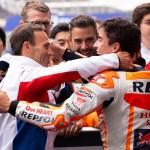 """Alberto Puig: """"Fue especial para mí estar en el podio con Marc"""""""