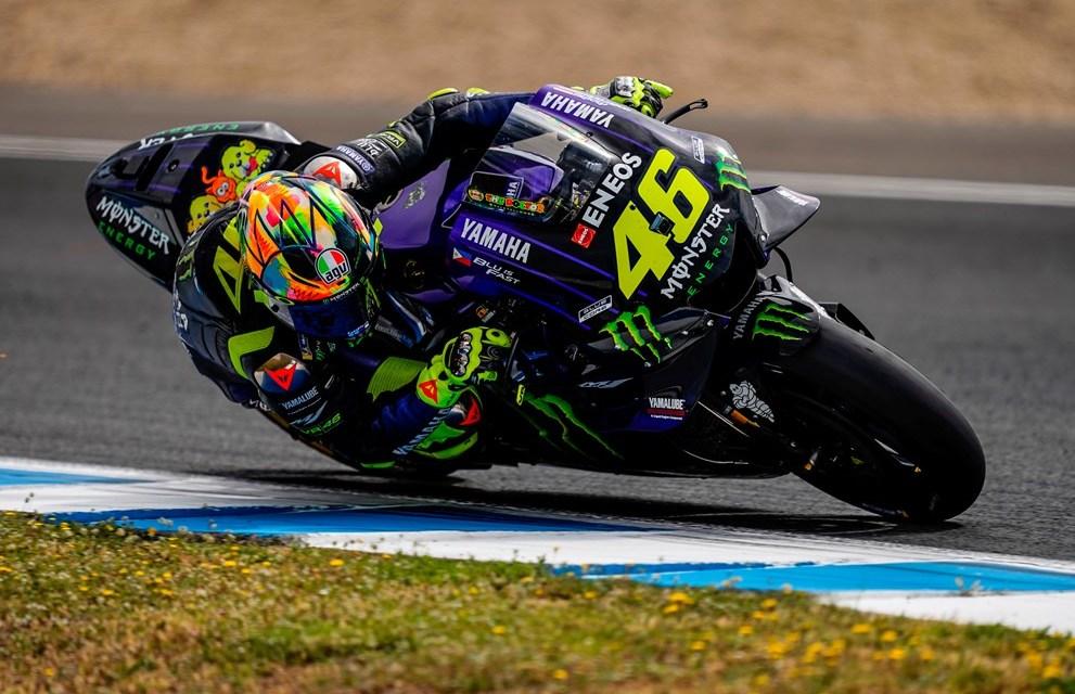 El Monster Energy Yamaha MotoGP preparado para el GP de Francia