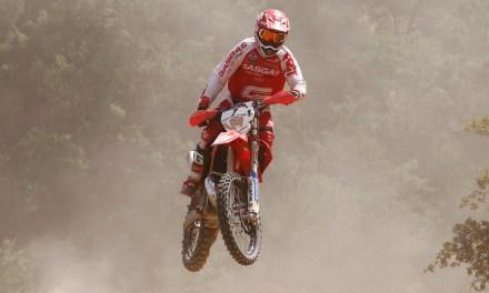 Tercer podio consecutivo de la temporada para Jonathan Barragán y GasGas en el Nacional