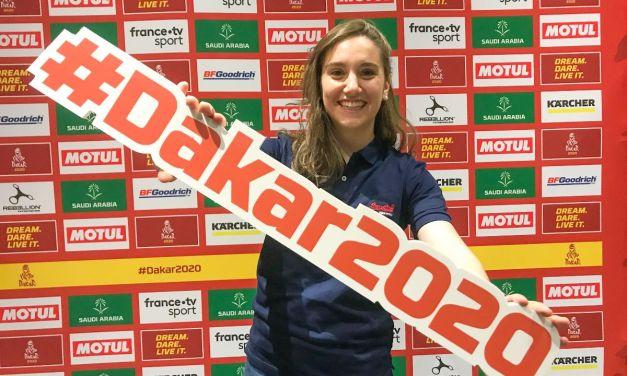 Margot Llobera disfruta su primera Etapa del Dakar