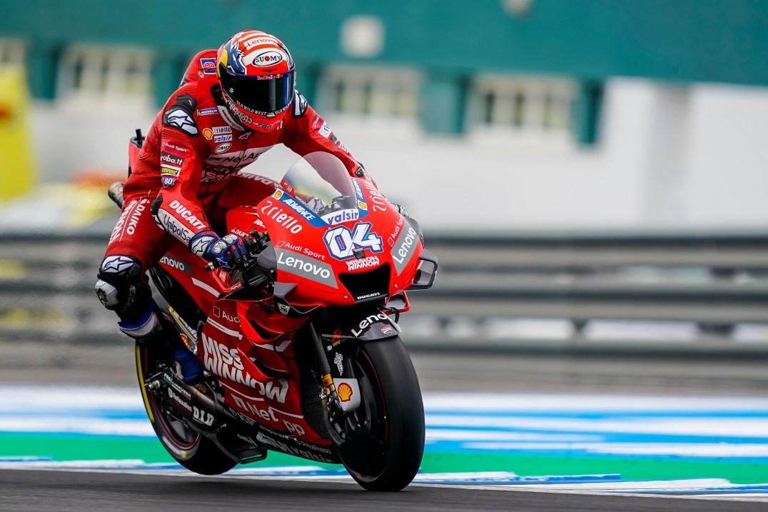 Andrea Dovizioso, Mission Winnow Ducati Team, Test Post Jerez, MotoGP
