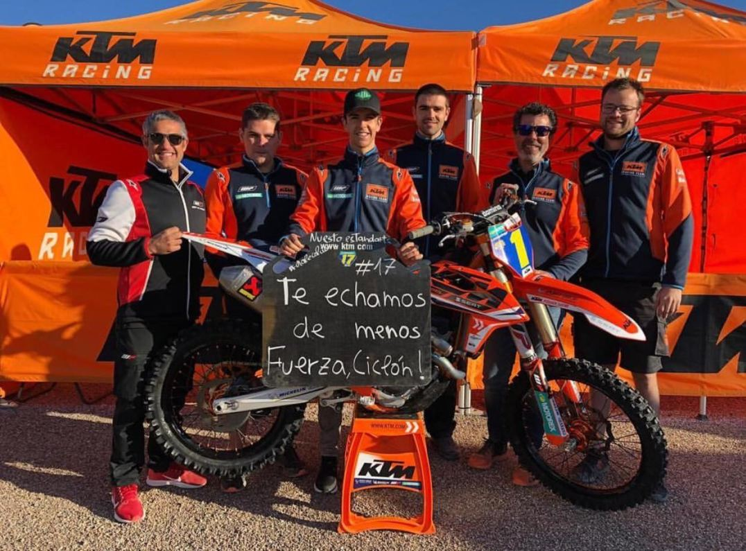ÁNIMO BUTRÓN, Íker Larrañaga, KTM, MX2