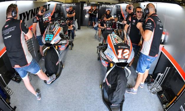 Lüthi y Schrötter de nuevo entre el grupo delantero del viernes en Jerez