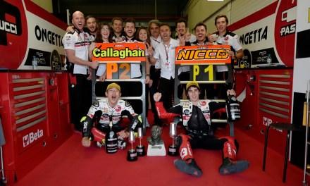 El 5 de mayo 2019 Jerez habló italiano en Moto3