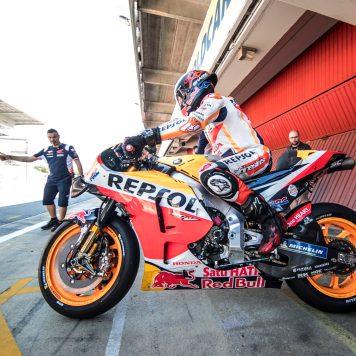 Jorge Lorenzo, Repsol Honda, Test post Montmeló