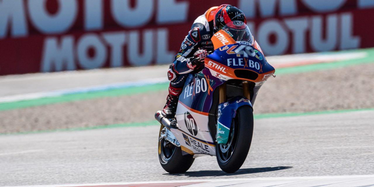 Mágica victoria para Augusto Fernández en Moto2 Assen