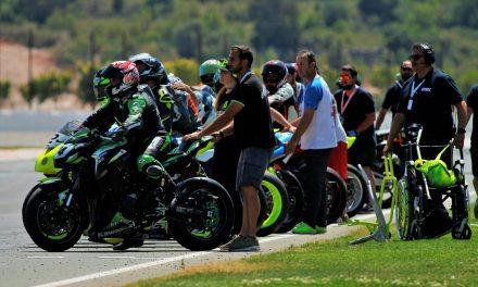Las Handy ESBK protagonizan el Campenato de España de Superbike en Valencia