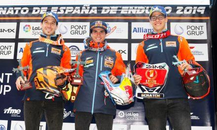 Espectacular triplete para KTM en el Campeonato de España de Enduro