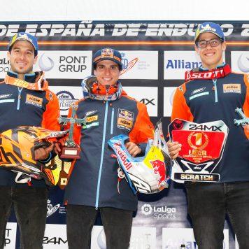 Podio Scratch_CEE_Infiesto (Oviedo), KTM España